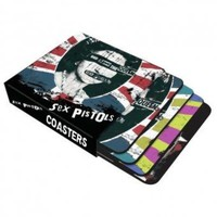 Sex Pistols God Save The Queen - coasters Set 4