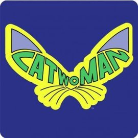 Hole In The Wall Batman Catwoman - Coaster