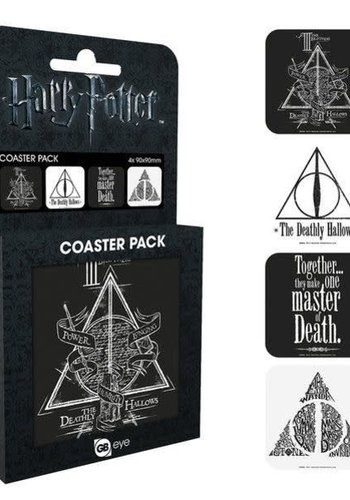 Harry Potter Deathly Hallows - Coaster Set 4