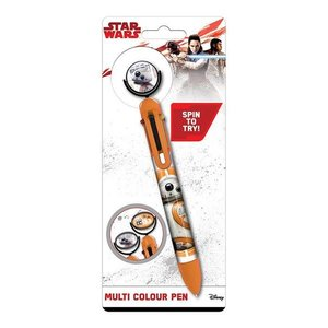 Hole In The Wall Star  Wars The Last Jedi BB-8 - Multi-Coloured Pen