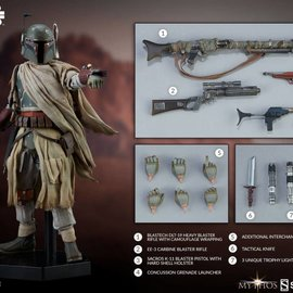 Sideshow Star Wars: Mythos - Boba Fett 1:6 Scale Figure