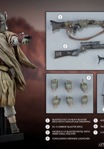 Star Wars: Mythos - Boba Fett 1:6 Scale Figure