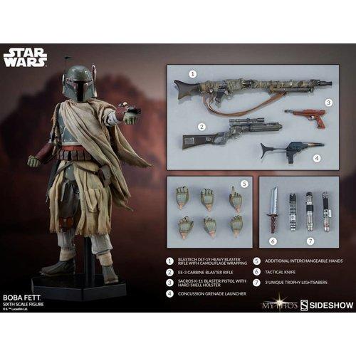 Sideshow Star Wars: Mythos - Boba Fett 1:6 Scale Figure