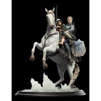 Arwen and Frodo on Asfaloth-Weta