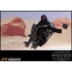 Hot toys Star Wars: TPM - Darth Maul with Sith Speeder 1:6 Scale Figure