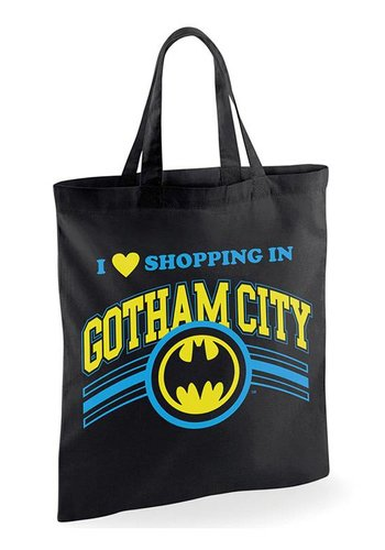 Batman - Shopping In Gotham Tote Bag