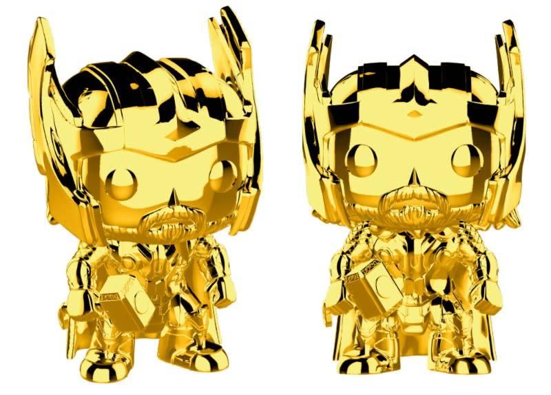 Pre-Order Pop! Marvel: MCU 10th Aniversary - Chrome Thor