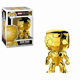 Pre-Order Pop! Marvel: MCU 10th Aniversary - Chrome Iron Man