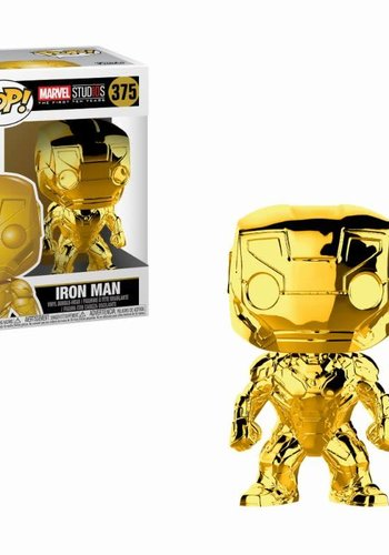 Pop! Marvel: MCU 10th Aniversary - Chrome Iron Man