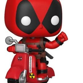 FUNKO Pop! Rides: Marvel - Deadpool and Scooter