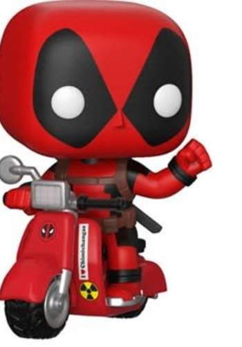Pop! Rides: Marvel - Deadpool and Scooter
