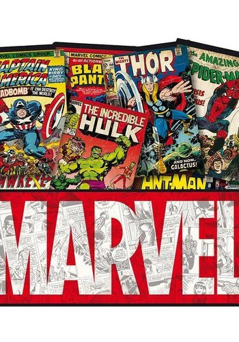 Marvel - mousemat - comic Book