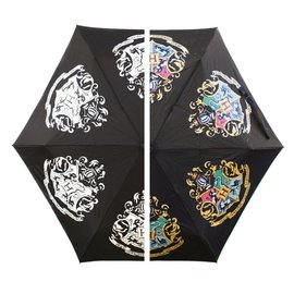 Geen HARRY POTTER - COLOUR CHANGING UMBRELLA - HOGWARTS CREST