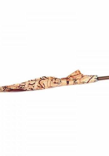 HARRY POTTER - Umbrella 'Stick' - Marauder's Map