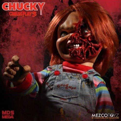 Mezcotoys Child's Play 3: Mega Talking Pizza Face Chucky