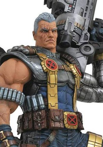 Marvel Premium Collection: Deadpool - Cable Statue