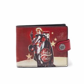 Bioworld Fallout 4: Fallout Nuka Cola Billfold Wallet