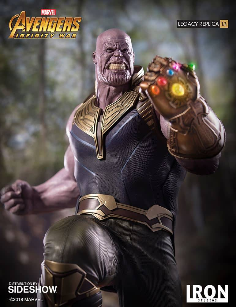 Sideshow Toys Marvel: Avengers Infinity War - Thanos 1:4 Scale Statue