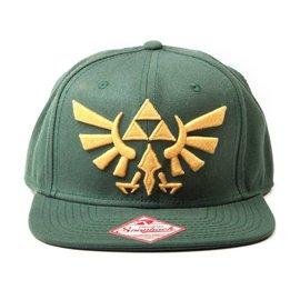 Bioworld The Legend of Zelda: Embroided Gold Logo Green Snapback