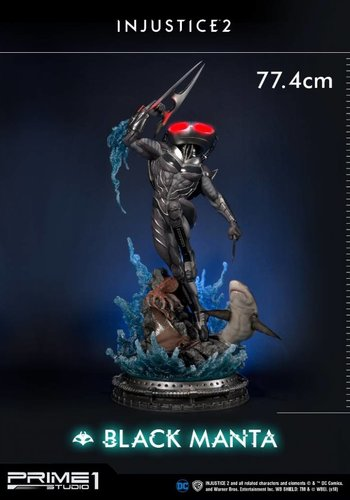 DC Comics: Injustice 2 - Black Manta 1:4 Scale Statue