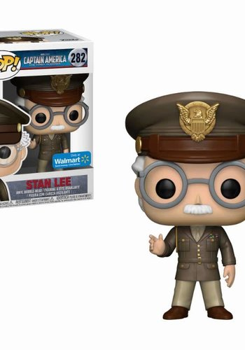 Pop! Marvel: Stan Lee Cameo Army General LE