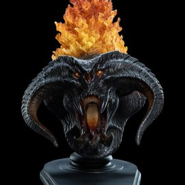 WETA Workshops Lord Of The Rings :The Balrog Flame of Ud–n - Creature Bust
