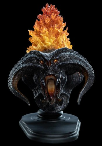 Lord Of The Rings :The Balrog Flame of Ud–n - Creature Bust