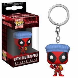 FUNKO Pocket Pop Keychain: Marvel - Deadpool Bathtime