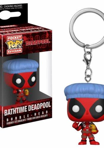 Pocket Pop Keychain: Marvel - Deadpool Bathtime