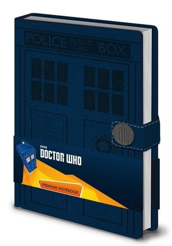 DOCTOR WHO - NOTEBOOK A5 PREMIUM - TARDIS