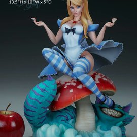Sideshow Fairytale Fantasies Collection: Alice in Wonderland Statue