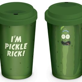 Hole In The Wall Rick and Morty: Pickle Rick Travel Mug