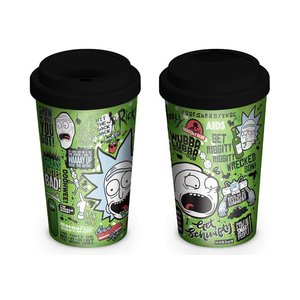 Hole In The Wall Rick and Morty: Quotes Travel Mug