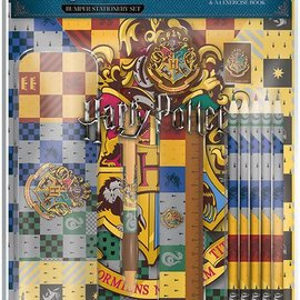 Hole In The Wall Harry Potter: House Crests Stationery Set