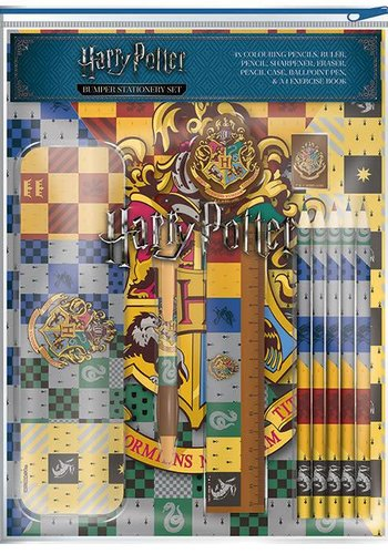 Harry Potter: House Crests Stationery Set