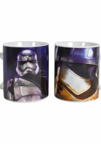 Star Wars Episode VII Captain Phasma ceramic mug