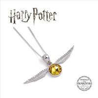 Harry Potter Embellished with Swarovski® Crystals Golden Snitch Necklace