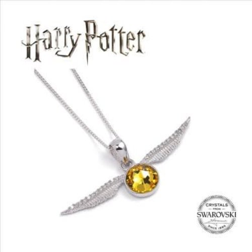 The Carat Shop Harry Potter Embellished with Swarovski® Crystals Golden Snitch Necklace