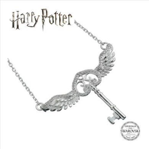 The Carat Shop Harry Potter Embellished with Swarovski® Crystals Flying Key Necklace