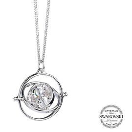 Warner Bross Harry Potter Time Turner swarovski necklace