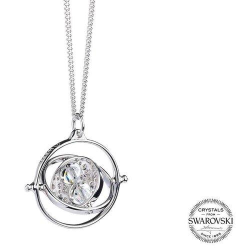 Warner Bross Harry Potter Time Turner swarovski necklace