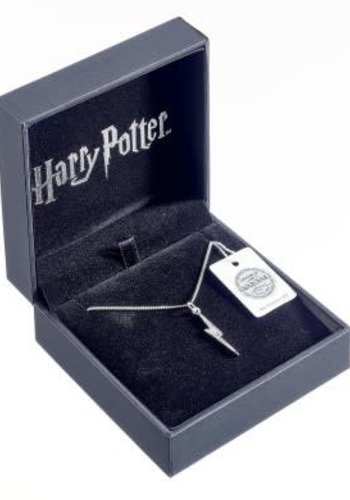 Harry Potter Lightening Bolt swarovski necklace