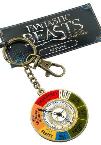 Fantastic Beasts Magical Dial keyring