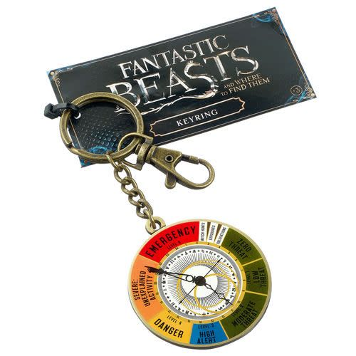 The Carat Shop Fantastic Beasts Magical Dial keyring