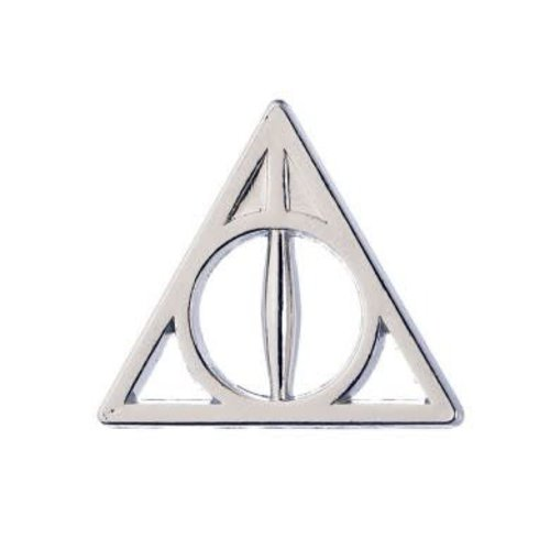 Warner Bross Harry Potter Deathly Hallows pin badge