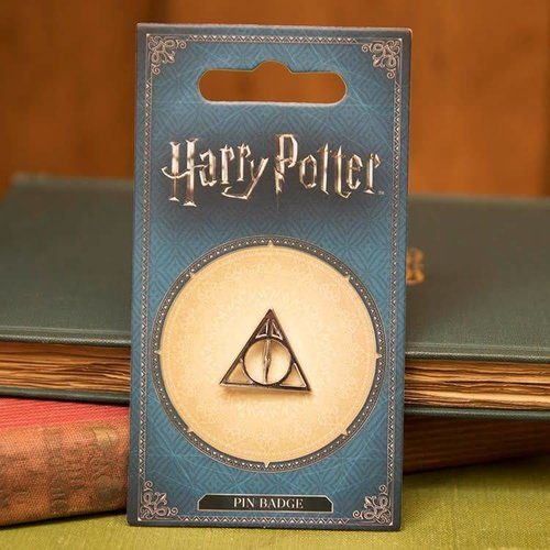 Warner Bross Harry Potter Deathly Hallows pin badge