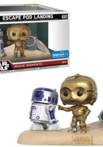 Pop! Star Wars: Movie Moments - Desert R2-D2 and C-3PO LE