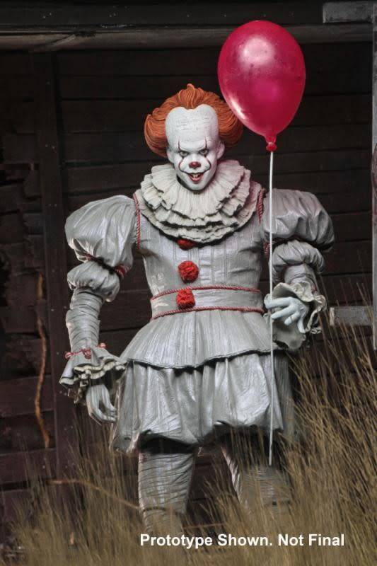 NECA IT: Ultimate 2017 Movie Pennywise 7 inch Action Figure