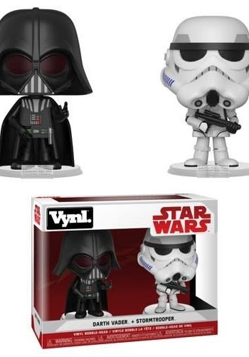 Pop Vynl: Star Wars - Darth Vader and Stormtrooper 2-Pack