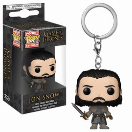 FUNKO Pocket Pop Keychain: Game of Thrones - Jon Snow Beyond the Wall